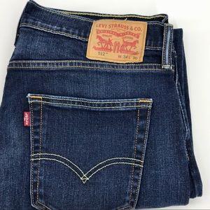 Levis 512 Jeans Like New sz 34/30